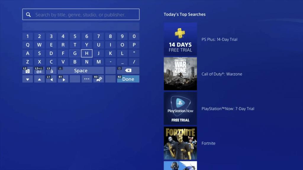 IPTV sur PS4